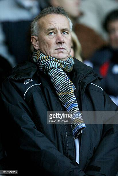 Liverpool chief executive Rick Parry during the Barclays Premiership match between Liverpool and Fulham at Anfield on December 9 2006 in Liverpool...