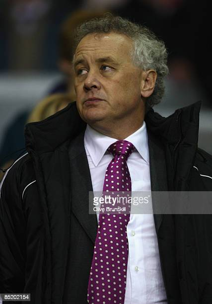 Liverpool Chief Executive Rick Parry looks on prior to the Barclays Premier League match between Liverpool and Sunderland at Anfield on March 3 2009...