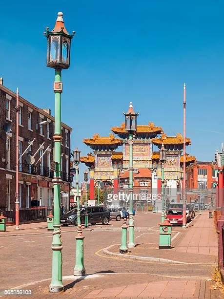 Liverpool, Chinatown area