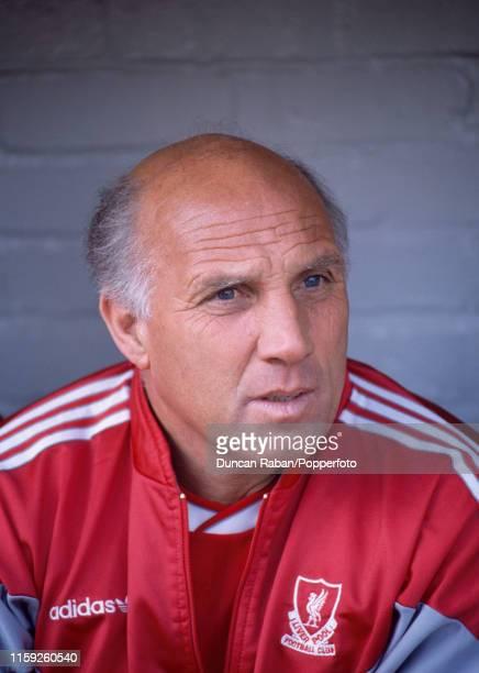 Liverpool coach Ronnie Moran circa 1990