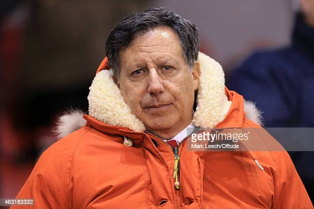 Liverpool coowner Tom Werner looks on before the Barclays Premier League match between Liverpool and Tottenham Hotspur at Anfield on February 10 2015...