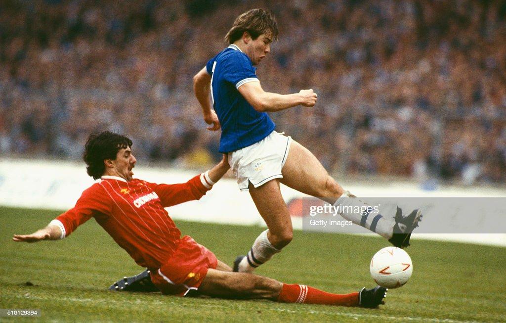 Everton v Liverpool 1984 League Cup Final : News Photo