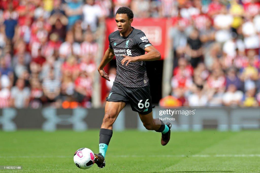 Southampton FC v Liverpool FC - Premier League : News Photo