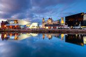 Liverpool Docks Waterfront