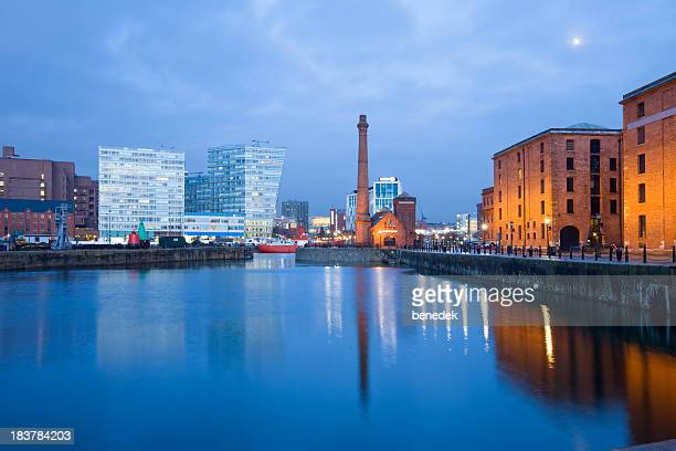 Liverpool England UK Cityscape with the Maritime Museum