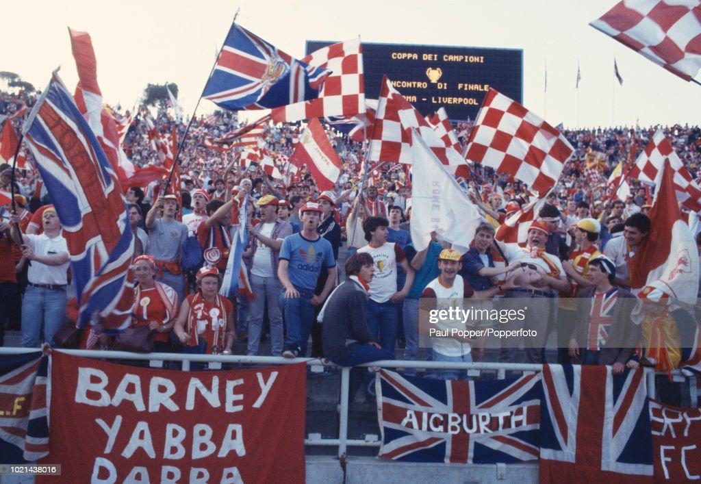 Liverpool v Roma - 1984 European Cup Final : Nachrichtenfoto