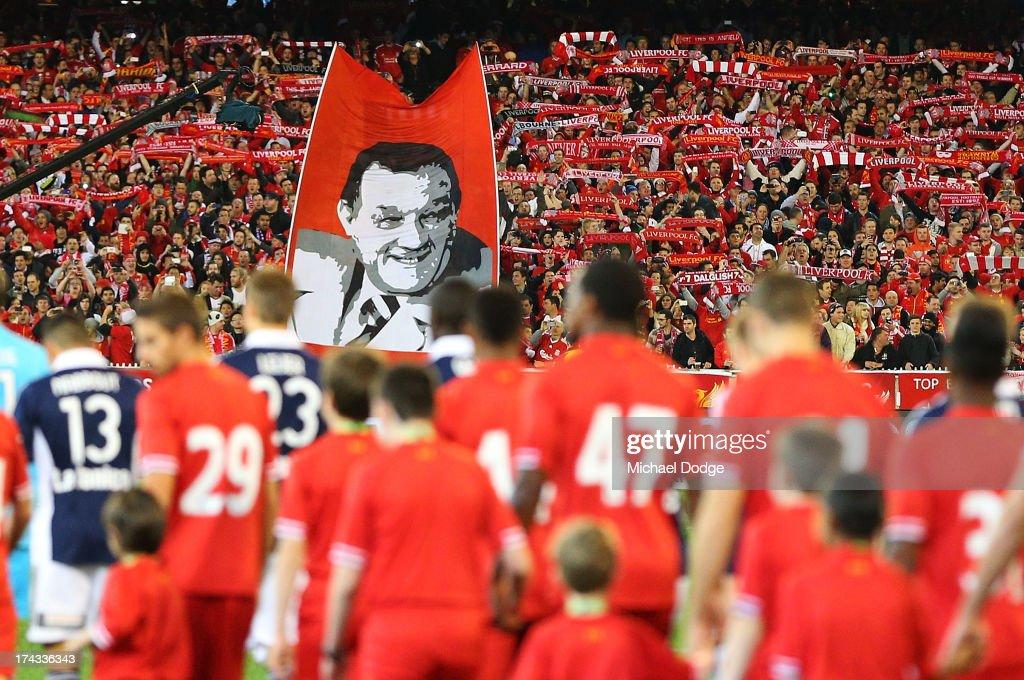 Melbourne Victory v Liverpool : News Photo
