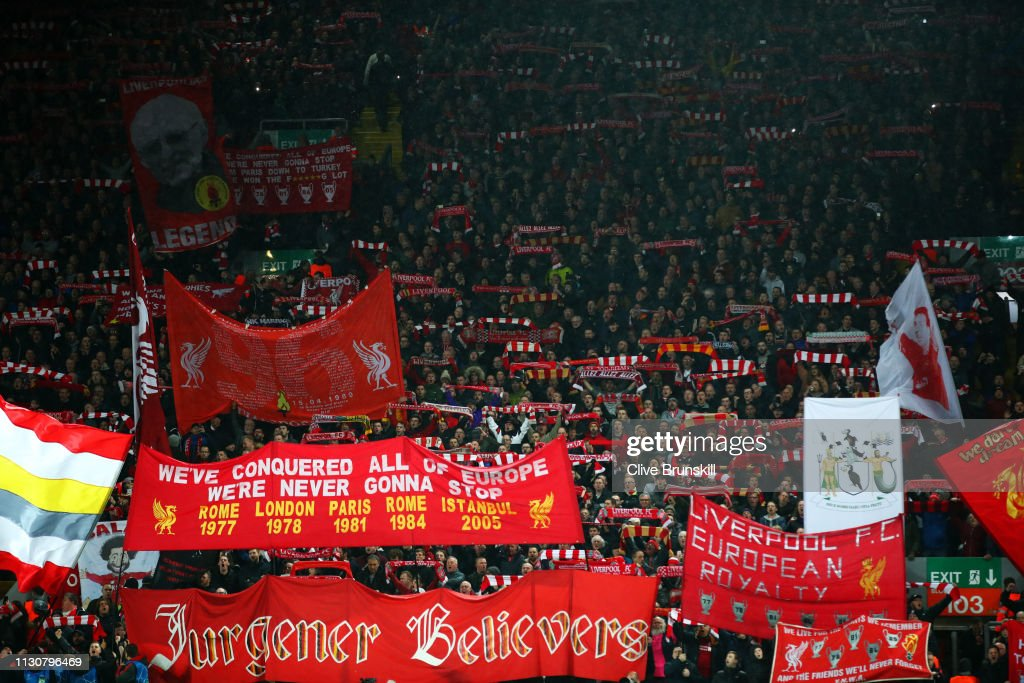 Liverpool v FC Bayern Muenchen - UEFA Champions League Round of 16: First Leg : News Photo