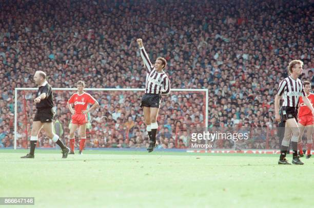 Liverpool FC 12 Newcastle United FC Division One league match at Anfield Saturday 1st October 1988 Francisco Ernani Lima da Silva aka Mirandinha