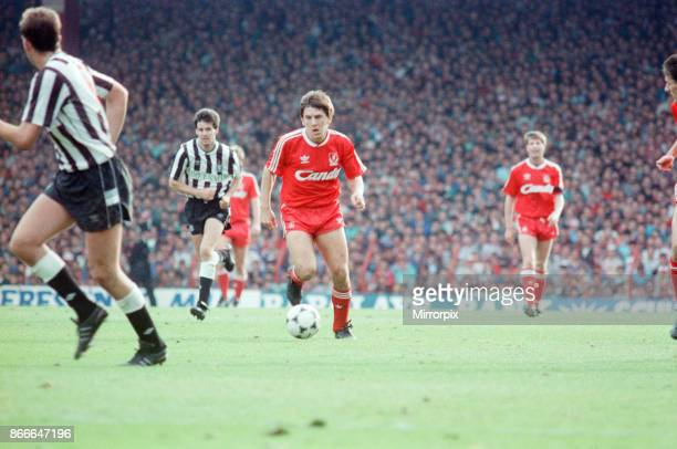 Liverpool FC 12 Newcastle United FC Division One league match at Anfield Saturday 1st October 1988 Peter Beardsley