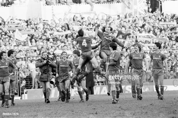Liverpool FC 20 Southampton FC FA Cup Semi Final match at White Hart Lane Saturday 5th April 1986 Kenny Dalglish Bruce Grobbelaar Jan Molby Ian Rush