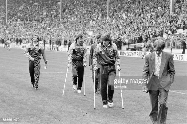 Liverpool FC 31 Everton FC FA Cup Final 1986 Wembley Stadium Saturday 10th May 1986 Post Match Scenes Neville Southall