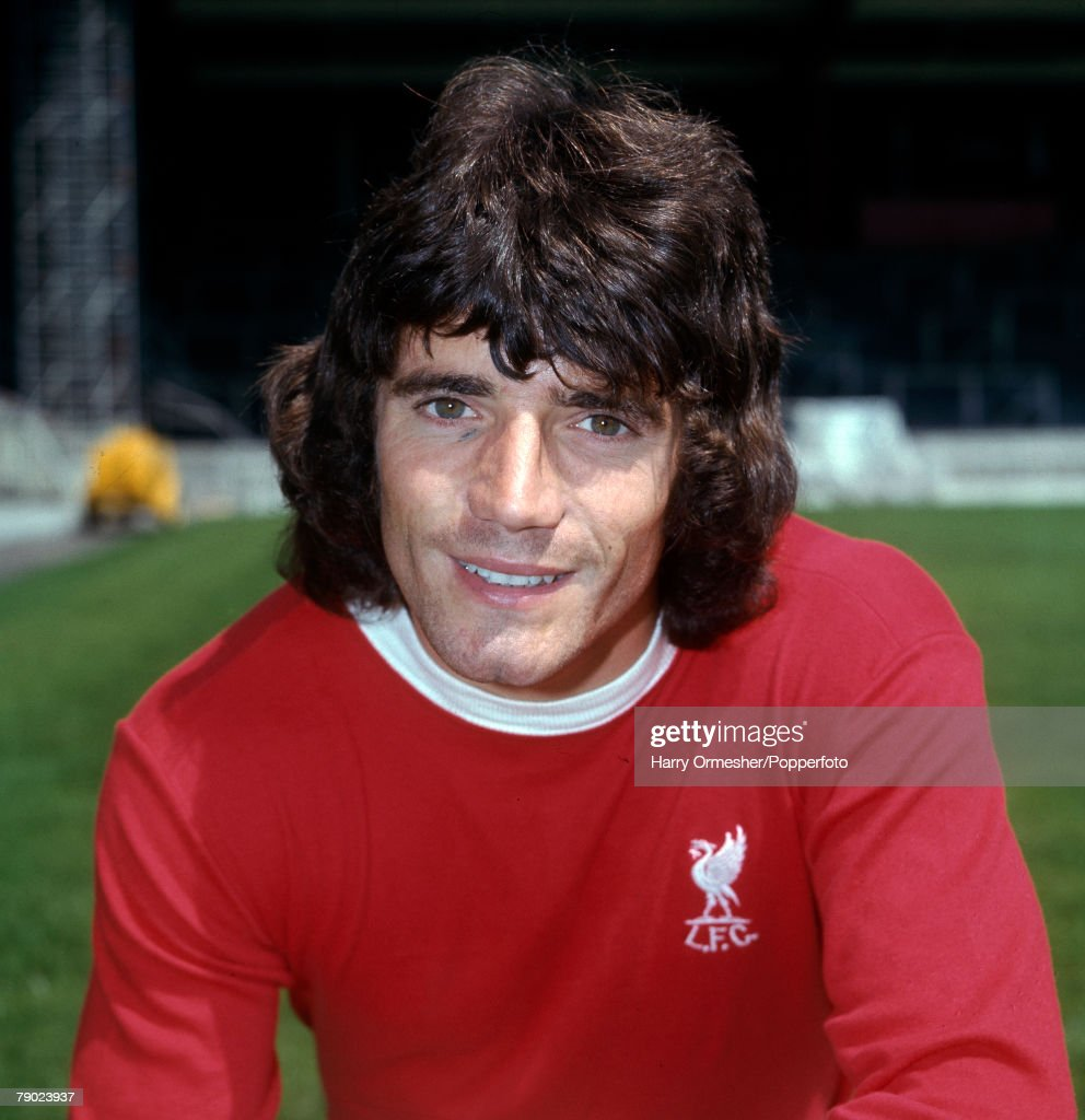 Sport. Football. Anfield, England. 31st July 1975. Liverpool FC Photocall. Kevin Keegan of Liverpool. : News Photo