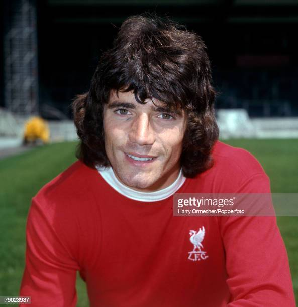 Sport Football Anfield England 31st July 1975 Liverpool FC Photocall Kevin Keegan of Liverpool