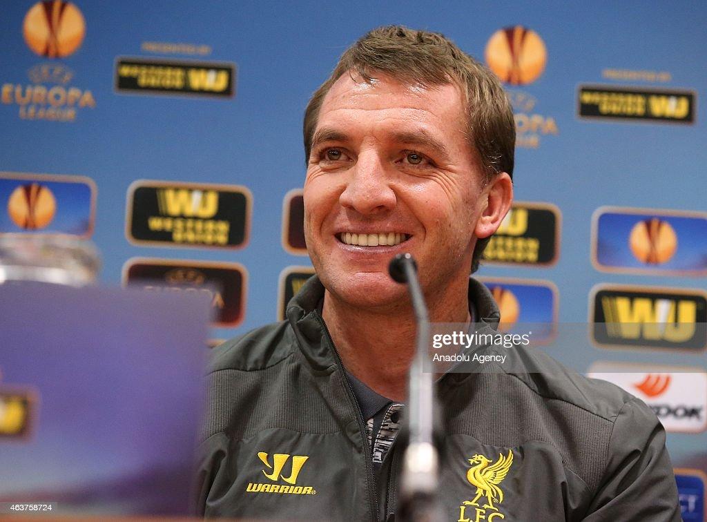 Liverpool FC Press Conference : News Photo