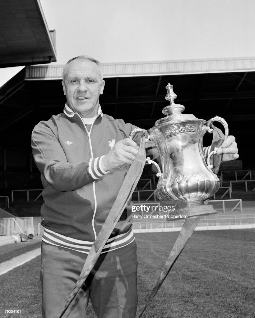 Volume 2, Page 18, Pic 18,Pic 9, Liverpool Manager Bill Shankly with the F.A. Cup trophy, which the club won in 1974