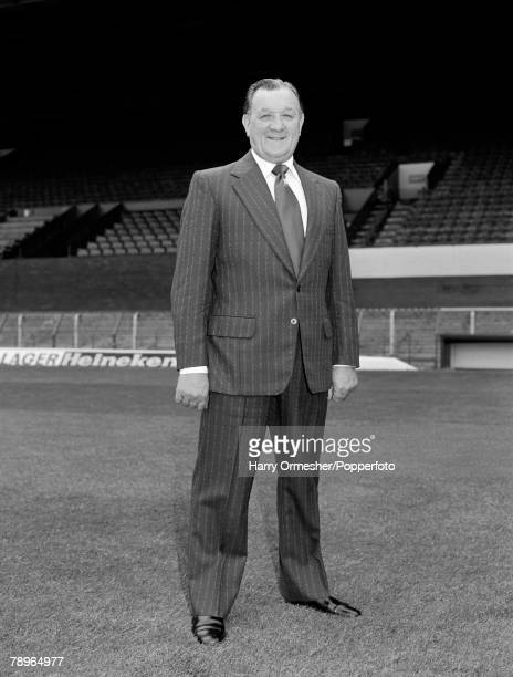 Liverpool FC manager Bob Paisley at Anfield in Liverpool, England, circa September 1978.