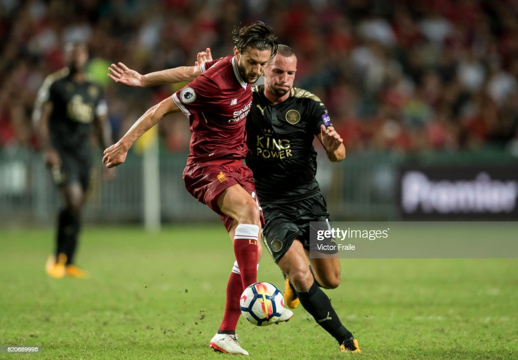 Liverpool FC v Leicester City FC: Premier League Asia Trophy : News Photo