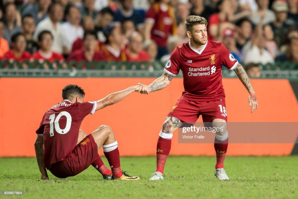Liverpool FC v Leicester City FC: Premier League Asia Trophy : ニュース写真