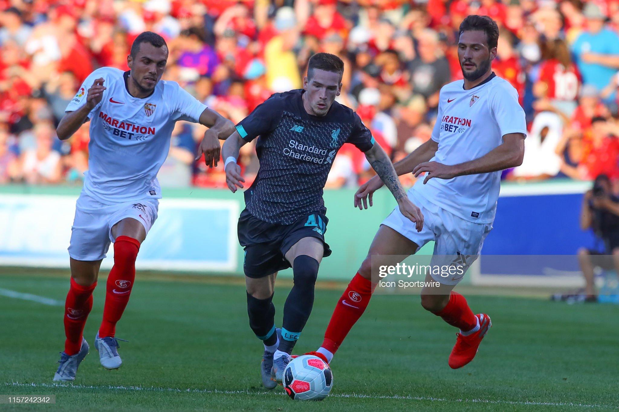 SOCCER: JUL 21 Liverpool FC v Sevilla FC : News Photo