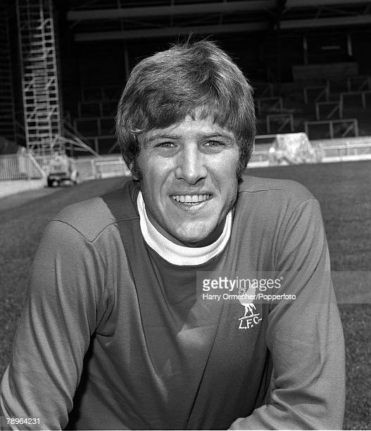 Liverpool FC Photocall Emlyn Hughes 31st July 1975