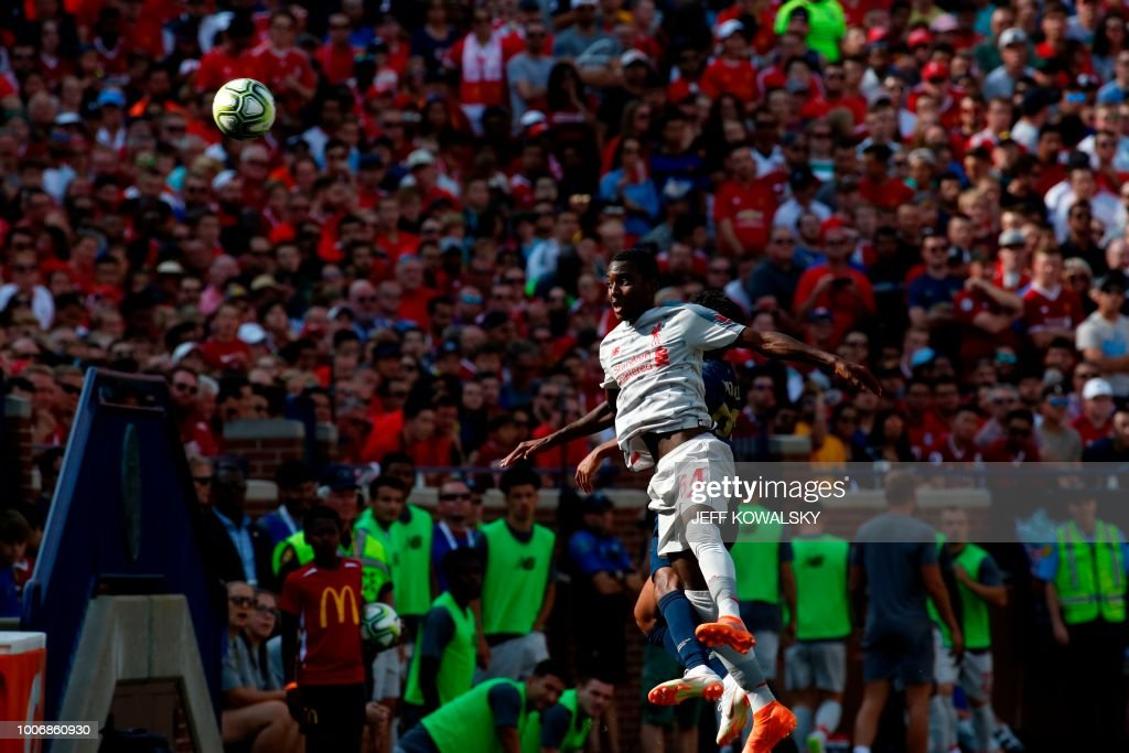 FBL-US-ICC-2018-MANCHESTERU-LIVERPOOL : News Photo