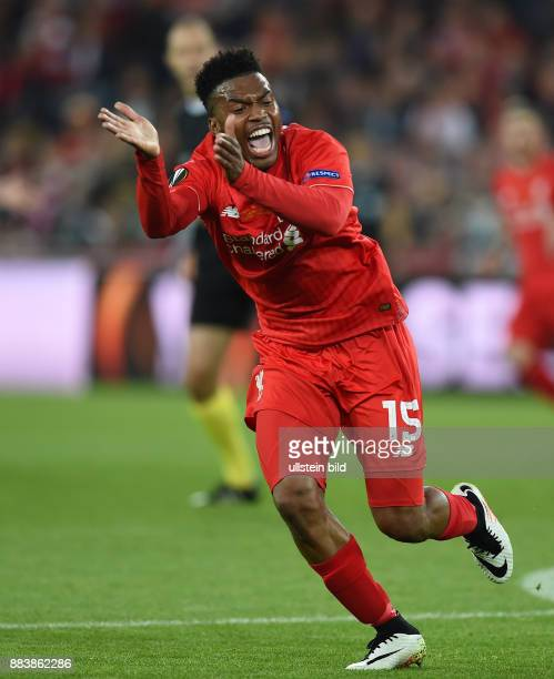 FUSSBALL UEFA FC Liverpool FC Sevilla Daniel Sturridge emotional