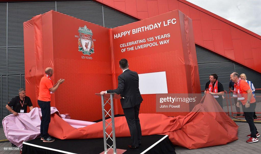 Liverpool fc unveil birthday card celebrating clubs 125 years liverpool fc unveil birthday card celebrating clubs 125 years with new ceo peter moore and ex bookmarktalkfo Choice Image