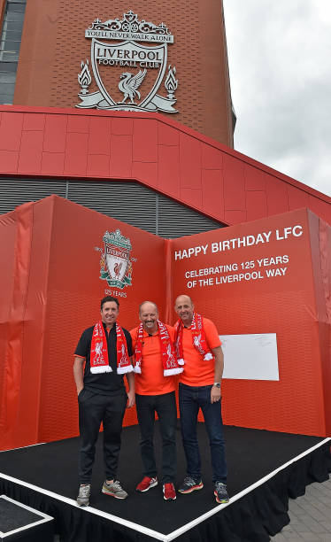 Liverpool FC Unveil Birthday Card Celebrating Clubs 125 Years With New CEO Peter Moore And Ex
