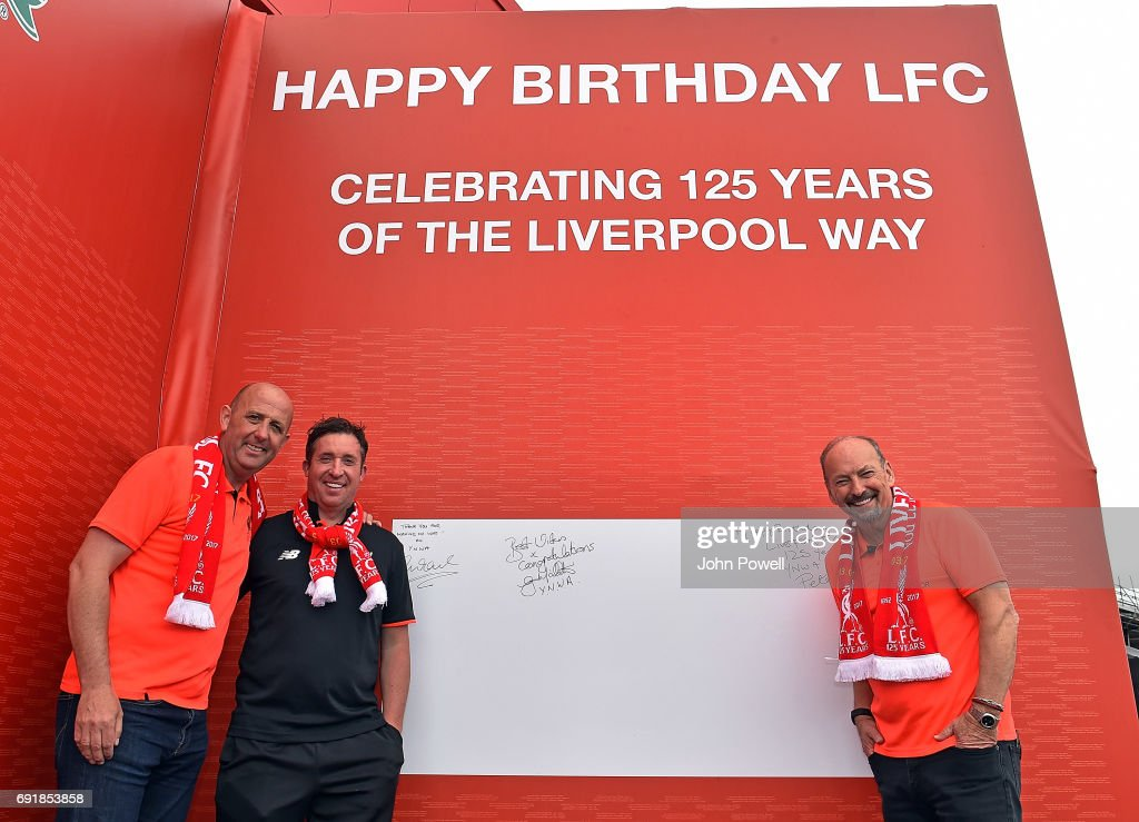 Liverpool FC Unveil Birthday Card Celebrating Clubs 125 Years News Photo