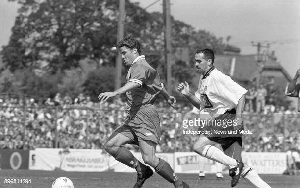 Liverpool FC V Dundalk FC at Oriel Park, Dundalk, Louth, .