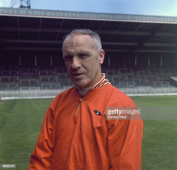 Liverpool Football Club Manager Bill Shankly