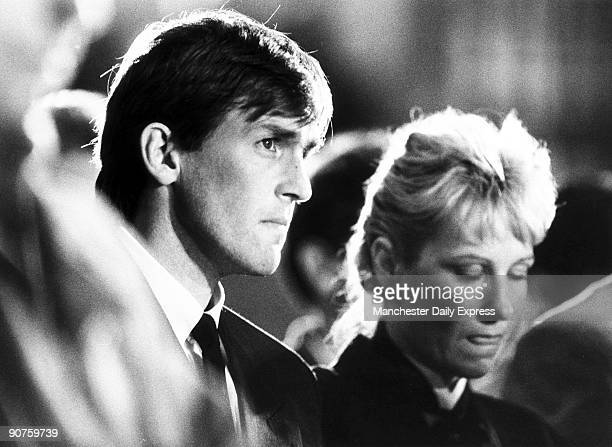 Liverpool footballer Dalglish and his wife Marina at the memorial service in the catholic Metropolitan Cathedral Liverpool in memory of those killed...