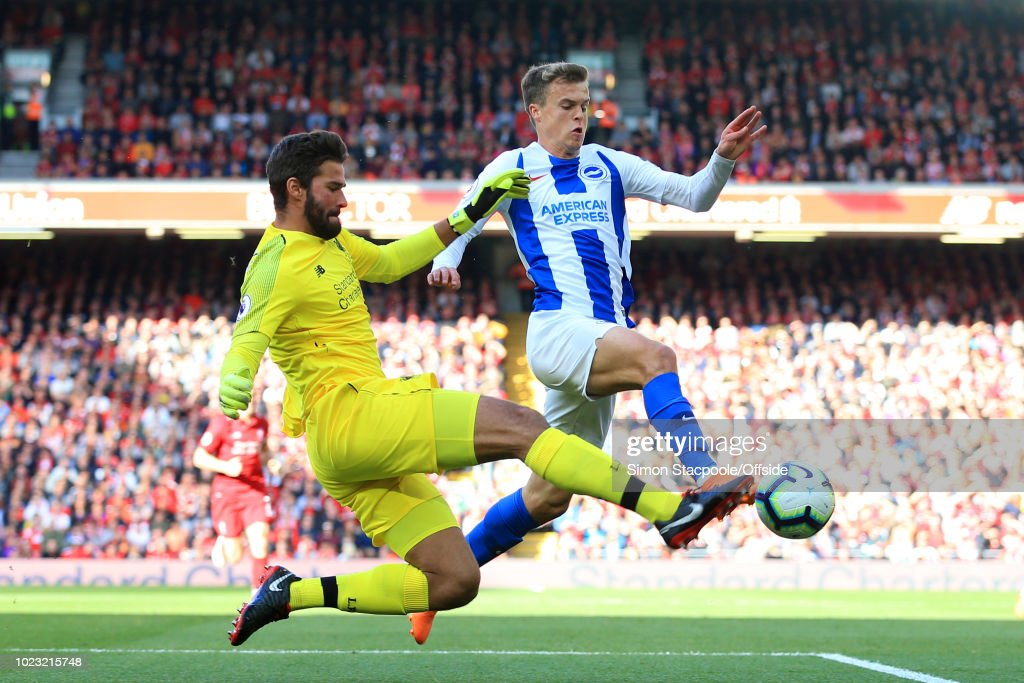 Liverpool v Brighton & Hove Albion - Premier League : ニュース写真