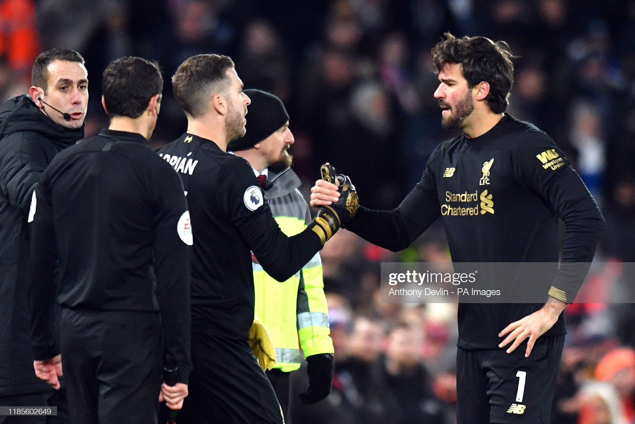 Liverpool v Brighton and Hove Albion - Premier League - Anfield : News Photo