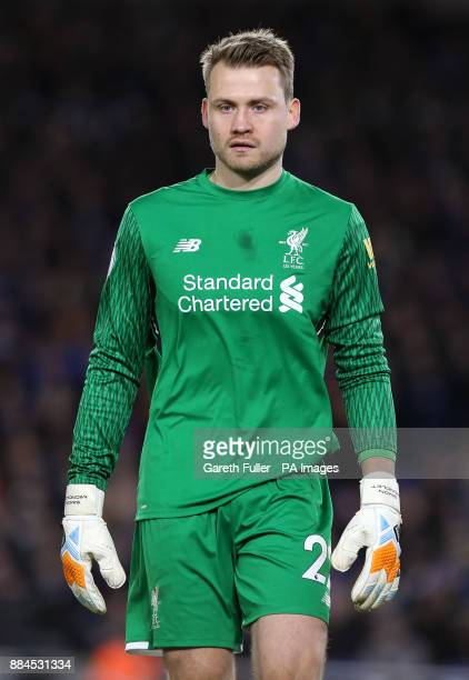 Liverpool goalkeeper Simon Mignolet during the Premier League match at the AMEX Stadium Brighton PRESS ASSOCIATION Photo Picture date Saturday...