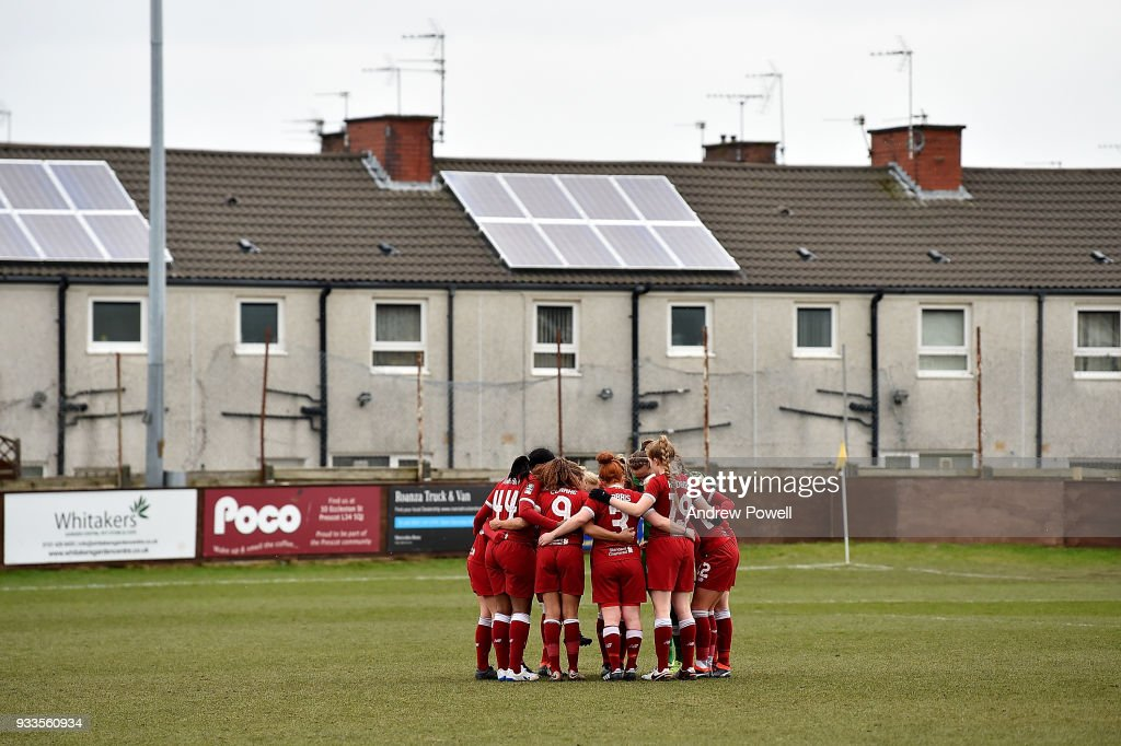 Liverpool Ladies v Chelsea Ladies: The SSE Women's FA Cup Quarter Final