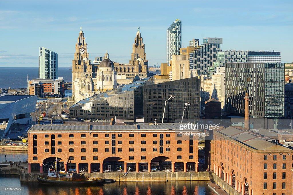 Liverpool Landmarks, England : Stock Photo