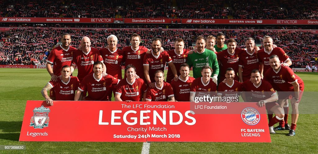 Liverpool FC Legends v FC Bayern Legends - Friendly Match : Nachrichtenfoto