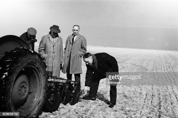 Liverpool manager Bill Shankly called in Mr John Flood of Queensferry an expert on ground construction to get the ground ready for Wednesday's cup...