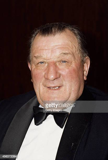 Liverpool manager Bob Paisley at an awards dinner circa 1983. Paisley managed the reds from 1974 -1983.