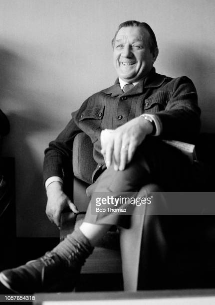 Liverpool manager Bob Paisley before a Football League Division One match against Leicester City on March 19, 1975 in Leicester, England.
