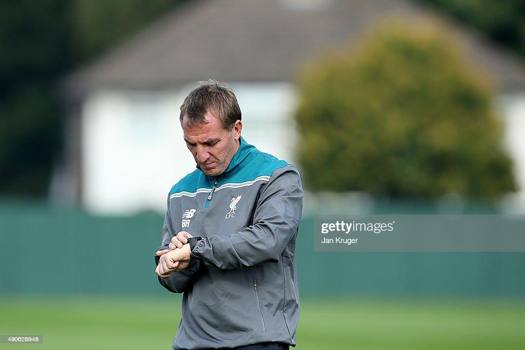 Liverpool FC Training Session : News Photo