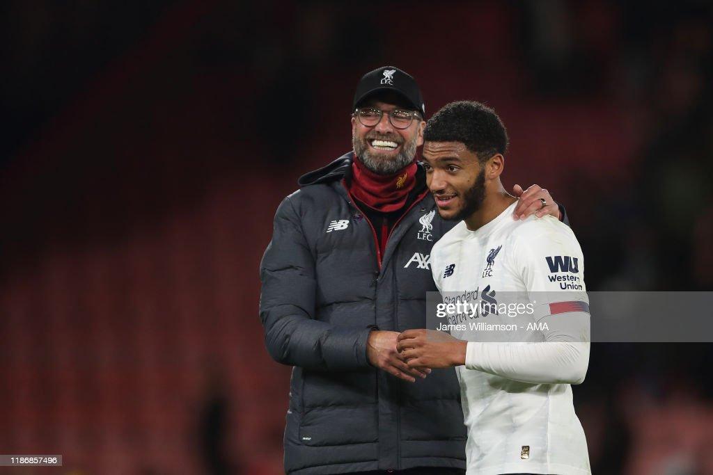 AFC Bournemouth v Liverpool FC - Premier League : ニュース写真