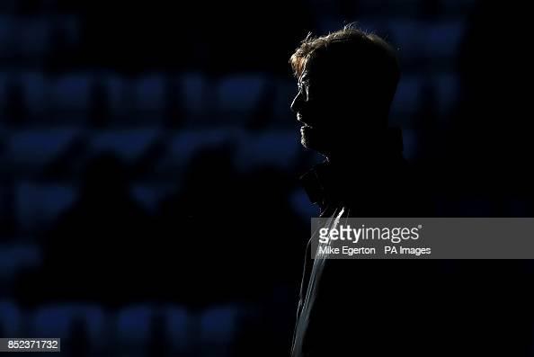 Liverpool manager Jurgen Klopp ahead of the Premier League