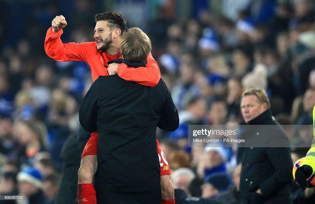Everton v Liverpool - Premier League - Goodison Park : News Photo