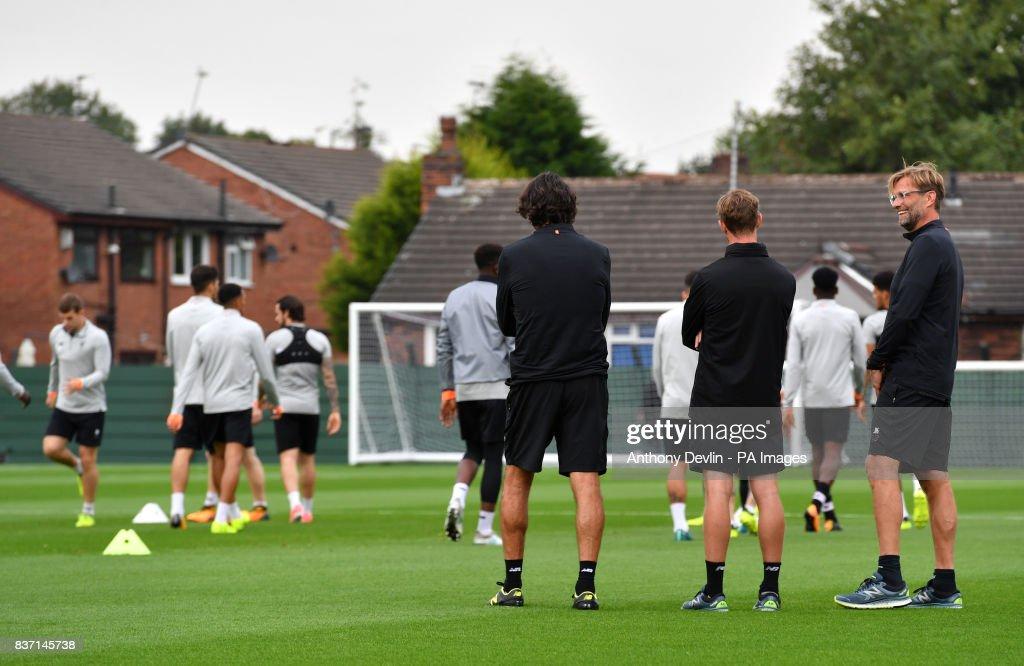 Liverpool Training Session - Melwood Training Ground : ニュース写真