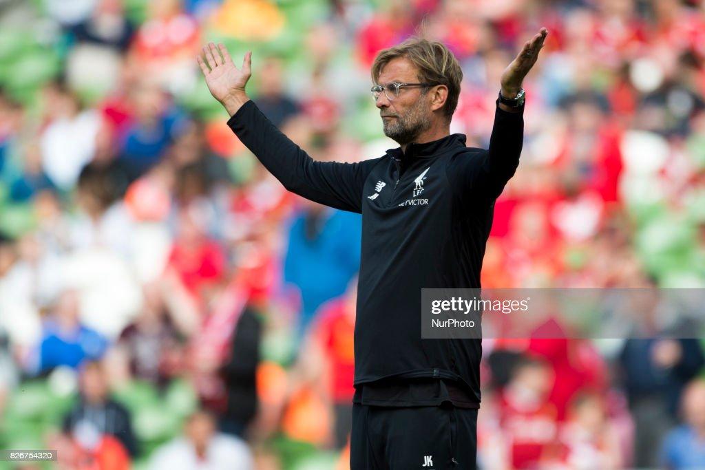 Liverpool v Athletic Club - Pre Season Friendly : News Photo