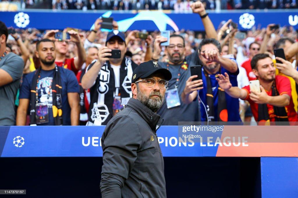 Tottenham Hotspur Fc v Liverpool Fc - Uefa Champions League Final : News Photo