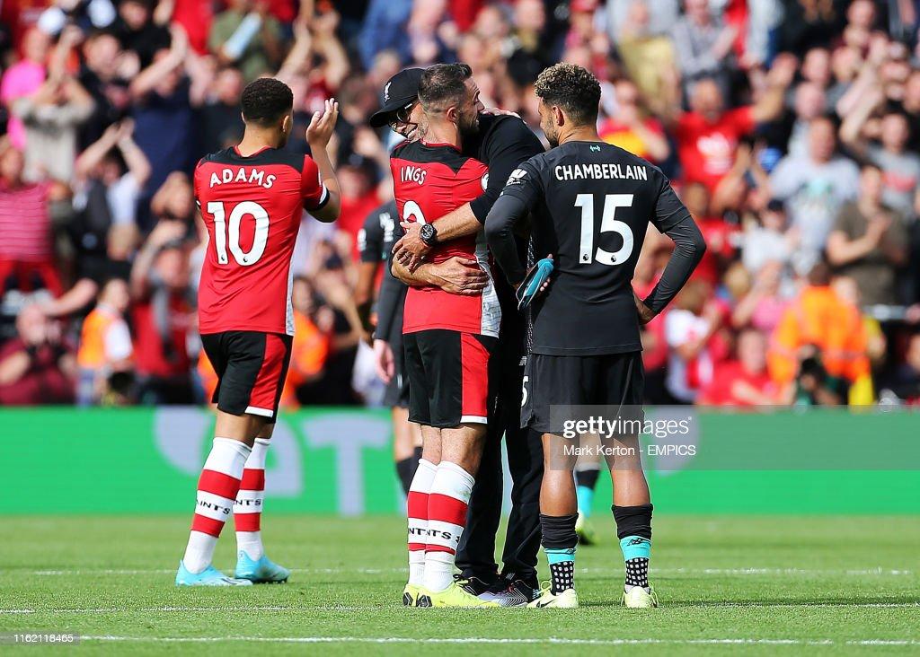 Southampton v Liverpool - Premier League - St Mary's Stadium : Foto di attualità